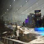 Skihalle in der Mall